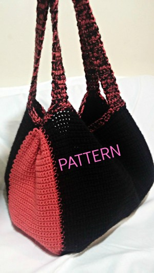Large Crochet Tote Pattern