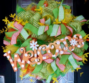 Welcome Wreath for Summer