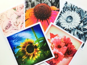 Floral Art Cards – Set of Ten