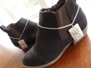 Boot Chains, Boot Jewelry, Boot Bracelet, Boot bracelets, Silver Anklet, Boot Decor, Western Boot Chains