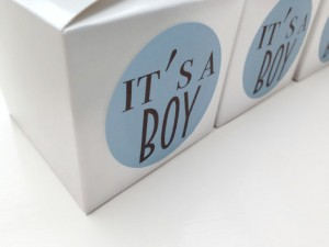 It's a boy stickers, It's a boy favour labels, baby shower favour stickers, boy baby shower, shower favour labels, 044