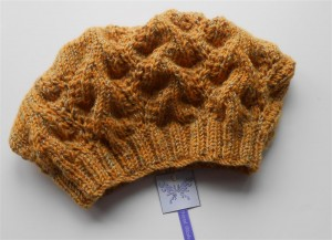Yellow Slouchy Beanie Hat Unisex Knit Hats