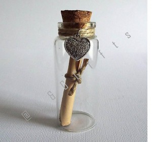 "Message in a Bottle, ""I LOVE YOU"""