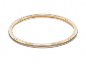14k gold ring, smooth stack ring, skinny ring, yellow, white, pink or green solid gold