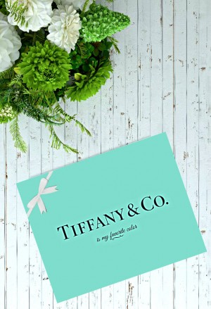 Tiffany & Co. Is My Favorite Color – 8×10 Art Print