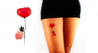 Temporary-Tattoo-Watercolor-Peony-Model