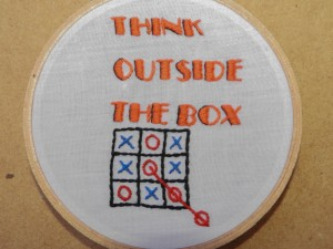 Think Outside the box!!