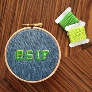 As If Contemporary Cross Stitch