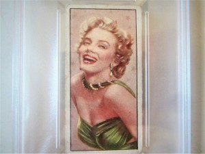 MARILYN MONROE Card #24 1955 Barbers Tea PSA Graded Cinema & Television Stars Tribute Rare Collectible Cake Topper Gift