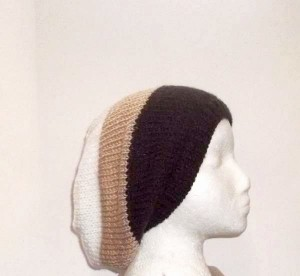 Oversized beanie Slouch hat