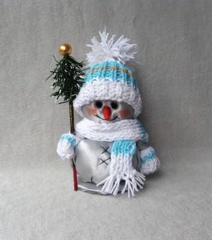 Snowman decorations Textile stuffed doll Snowman Christmas home decor Rag soft snowman New year gifts Fabric dolls Сloth snowman toy For kid