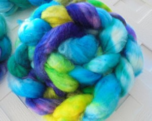 English Garden BFL/Nylon Handpainted Top