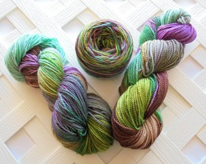 Lothlorien Yarn on Buttery Soft DK Base