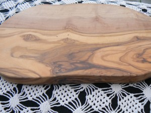 Olive Wood Cutting Serving Board