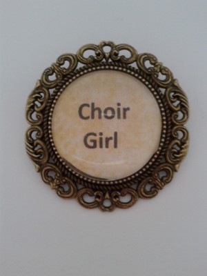 Choir Girl Brooch