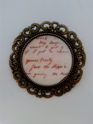 Jack the Ripper Brooch