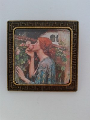 Soul of the Rose Pre Raphaelite Brooch