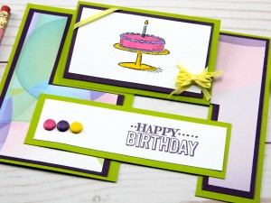Birthday Greeting Cards – Birthday Cake Impossible Card