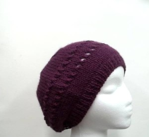 Hand knitted hats, beanies, slouch hats and more
