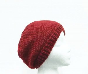 Red beanie hat knitted SALE SALE 15% off all items