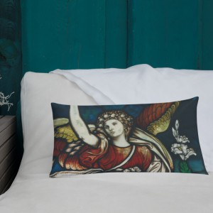 Guardian Angel Pillow with poem