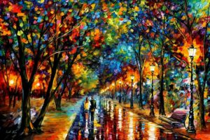 WHEN DREAMS COME TRUE — PALETTE KNIFE Oil Painting