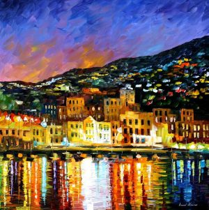 PORTUGAL – MADEIRA ISLAND — oil painting