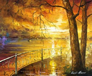 THE SWEETNESS OF THE SUN — oil painting