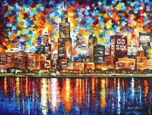 CHICAGO —  oil painting