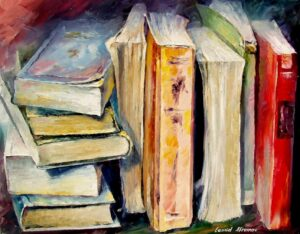 BOOKS — oil painting