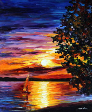BEAUTY OF NIGHT — oil painting
